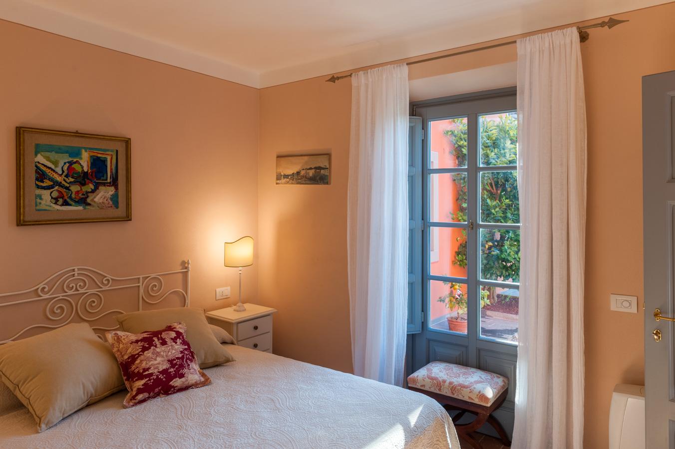 Camera matrimoniale dell'Arancera di Villa Grabau